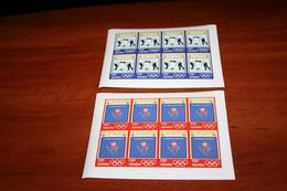 Olympic  2002 Gambia Imperf Rare Sheets - Winter 2002: Salt Lake City