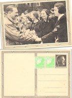 PROPAGANDAKARTE III REICH  HITLER 1939 - Briefe U. Dokumente