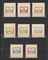++ 1930 Aviapost 50 Nominal In Different Colour Thick Paper Colour Proof - Poste Aérienne