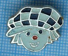 USSR / Badge / Soviet Union / Circus Clown Oleg Popov. - Celebrities