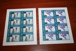 Olympic  2002 St. Vincent Imperf Rare Sheets - Winter 2002: Salt Lake City