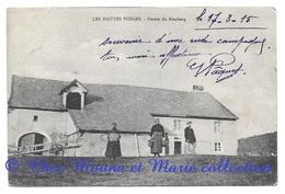 FERME DU ROSSBERG HAUTES VOSGES 1915 - POUR PAQUET CAFE DU COMMERCE COSNE SUR LOIRE - CPA - France
