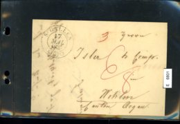 Schweiz Vorphilatelie, Brief Nach Wohlen (Aargau), Aus St. Gallen, 1837 - ...-1845 Vorphilatelie