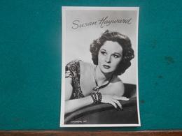 Movie Star  Susan Hayward  Echte Foto  Real Photo - Artisti