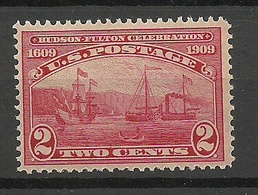 USA 1909 Michel 177 * Ships Schiffe - Etats-Unis