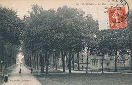 CPA - France - (02) Aisne - Soissons - Le Mail - Allée Principale - Soissons