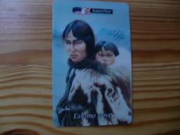 Prepaid Phonecard USA, Amerivox 5000 Ex - Stati Uniti