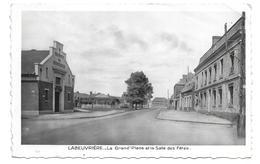 62/ PAS DE CALAIS... LABEUVRIERE: La Grand'Place Et La Salle Des Fêtes - France