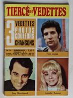 Livret Années 70 Tiercé Des Vedettes Tom Jones Guy Marchand Isabelle Aubert 3 Photos Couleurs - Andere Producten