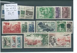 Colonies Françaises : COMORES. Lot Neuf ** Bonne Cote - Collections (without Album)