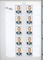 BM2221, Syrien, Xx, 1925, 2 Bogenteile, 8 Marken, O.l., O.r., Leerfelder - Syria