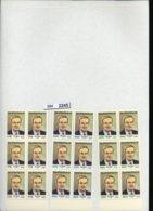 BM2245, Syrien, Xx, 1802, 1803, 1805, 3 6-er Bogenteile, 18 Marken,  UR - Syrien