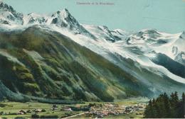 CPA - France - (74) Haute Savoie - Chamonix Et Le Montblanc - Chamonix-Mont-Blanc
