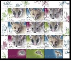 Israel 2019 - Mammals Souvenir Sheetlet Mnh - Años Completos