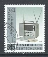 Duitsland, Mi 3400 Jaar 2018, Hoge Waarde, Gestempeld, Zie Scan - [7] République Fédérale