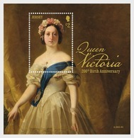 Jersey 2019 - Queen Victoria 200th Birth Anniversary Miniature Sheet Mnh - Jersey