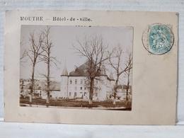 Mouthe. Carte Photo. Hôtel De Ville - Mouthe