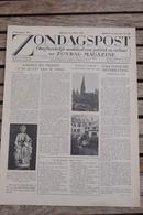 """Aalst 1945 Louis Paul Boon Mijn Kleine Oorlog In """"zondagspost"""" Manteau - Historische Dokumente"""
