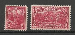 USA 1927 Michel 307 - 308 * - Vereinigte Staaten