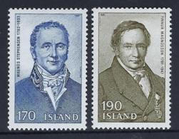 ICELAND 1981 Nº 516/517 - 1944-... República