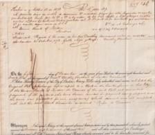 E6361 CUBA SPAIN 1873 CARTA DE PAGO DE DARTHES BANK LETTER UK REVENUE INLAND. - Historical Documents