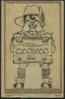 "1943/4 Burma ""The Monsoon"" British Army Brigade Magazine. Issues 1-8 - 1939-45"