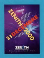 CPM.   Cart'Com.   Zénith De Caen.   Nuit Du 31 Décembre 2000. - Musique Et Musiciens