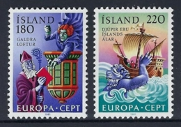 ICELAND 1981 Nº 518/519 - 1944-... República