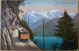 Brunnen Morschach Bahn Glitschen Urirotstock Zahnradbahn Axenstein - SZ Schwyz