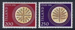 ICELAND 1981 Nº 527/528 - 1944-... República
