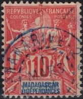 MADAGASCAR  43 (o) Type Colonies Françaises [colcla] - Madagascar (1889-1960)