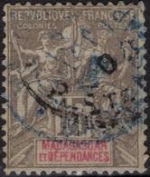 MADAGASCAR  44 (o) Type Colonies Françaises [colcla] 1 - Madagascar (1889-1960)