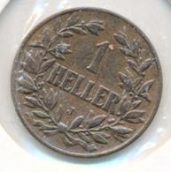 DEUTSCH OSTAFRIKA  -  1910 J  , 1 HELLER - East Germany Africa