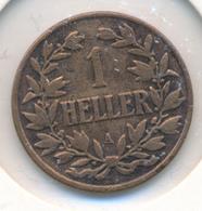 DEUTSCH OSTAFRIKA  -  1904 A   , 1 HELLER - East Germany Africa