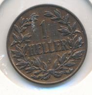 DEUTSCH OSTAFRIKA  -  1907 J   , 1 HELLER - East Germany Africa