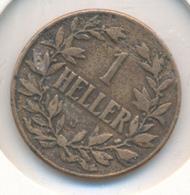 DEUTSCH OSTAFRIKA  -  1909 J   , 1 HELLER - East Germany Africa