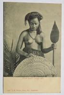 """C. P. A. : FIDJI, FIJI : """"What Luck"""", Fijian Girl, Topless, SUPERBE - Fiji"""