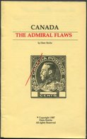 1987 Canada The Admiral Flaws By Hans Reiche. - Handbooks
