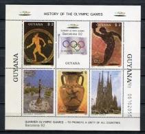 Barcelona 1992. Guyana 1987. Mi Block 20 ** MNH. - Verano 1992: Barcelona