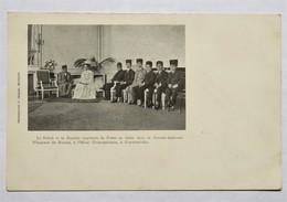 C. P. A. : IRAN, PERSIA : Le Schah Et La Famille Impériale De Perse En Visite Chez La Grande Duchesse Wladimir De Russie - Iran