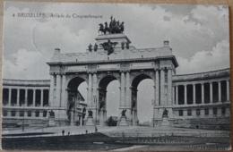 Brüssel Bruxelles Arcade Du Cinquantenaire 1915 - Monuments, édifices