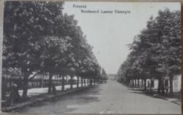 Focsani Boulevard Lascar Catargiu Rumänien Feldpost 1917 Landwehr Infantrie Regiment 8 8. Kompanie Gefreiter Ruthenberg - Rumänien