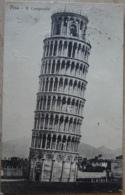 Pisa 1913 Schiefer Turm Il Campanile Toskana Italien - Pisa