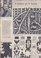 (pagine-pages)GIUSEPPE CAPOGROSSI  Rotosei1961/22. - Libri, Riviste, Fumetti