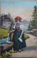 Volkstracht Im Gutachtal Schwarzwald Deutschland Tracht Brunnen St. Georgen 1913 - Trachten