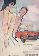(pagine-pages)PUBBLICITA' ALFA ROMEO  Rotosei1961/22. - Altri