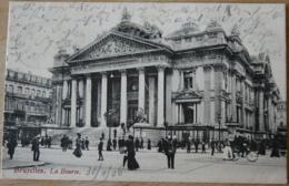 Bruxelles La Bourse Brüssel Börse Belgien 1906 - Bauwerke, Gebäude