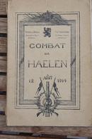 1914 1918 Combat De Haelen Uitg Ed. 1934 Institut Cartographique Militaire - 1914-18