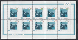 A 30 ) Free Shipping // Germany 1996 Olympic Games Complete Set Of 4 Beautiful Miniature Sheets MNH/** - Ete 1996: Atlanta