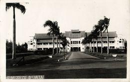 Indonesia, JAVA SOERABAIA, Government Building (1920s) RPPC Postcard - Indonesië